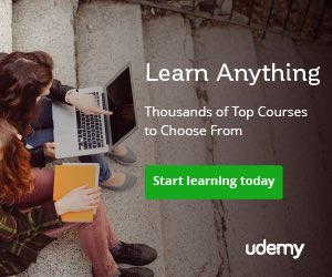 Udemy Learn Anything