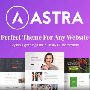 Astra Pro - Best Wordpress Theme