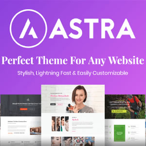 Astra Pro - Best Wordpress Theme
