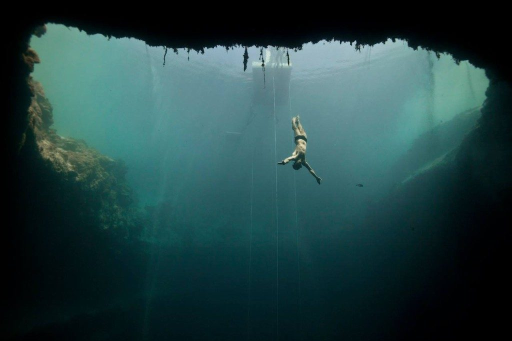 Superhuman Freediving