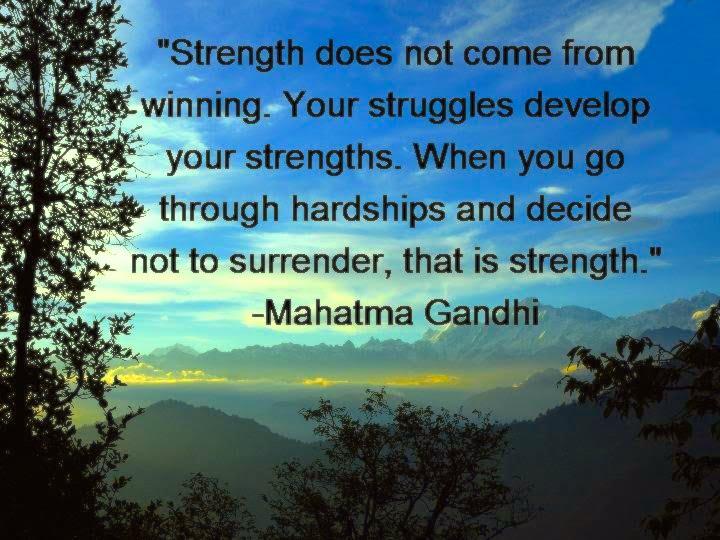 Superhuman Inner Strength
