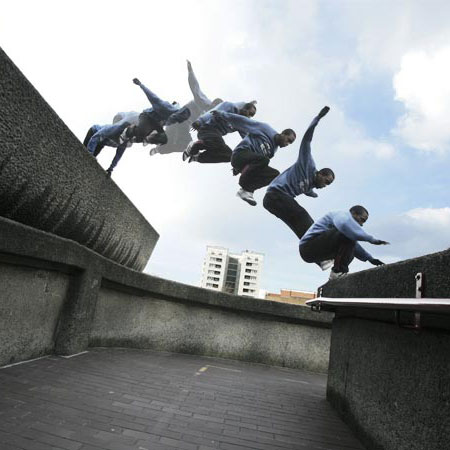 Superhuman Parkour