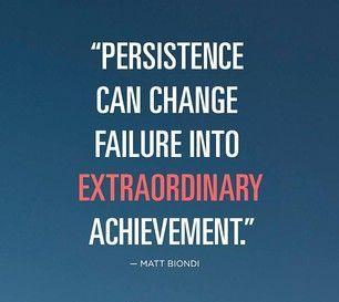 Superhuman Persistence To Extraordinary Achievement