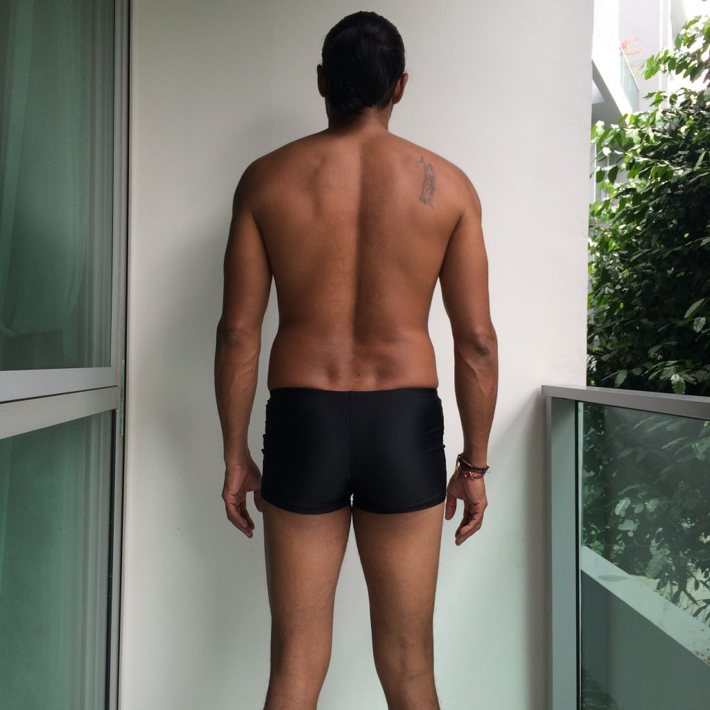 Superhuman Project Week1 My Body - back