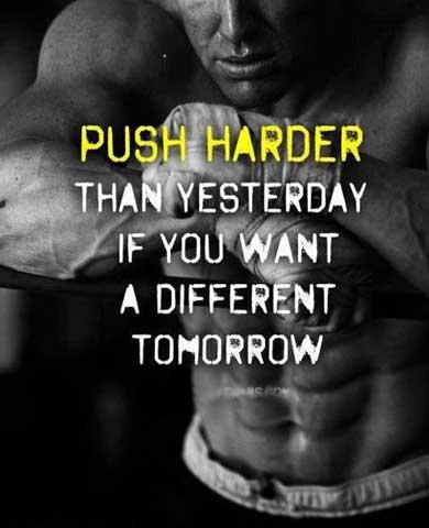 Superhuman Push Harder Today