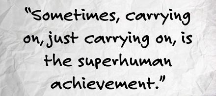 Superhuman Quote Carry On