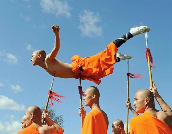 Superhuman Shaolin Monks