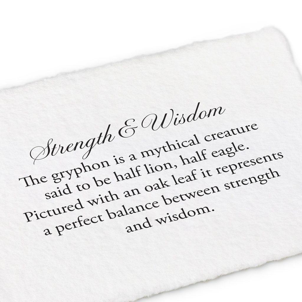 Superhuman Strength Wisdom Gryphon