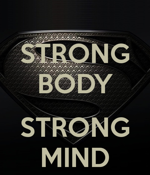 Superhuman Strong Body Strong Mind
