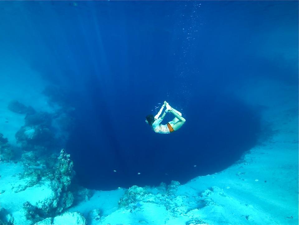 Superhuman Underwater Yoga