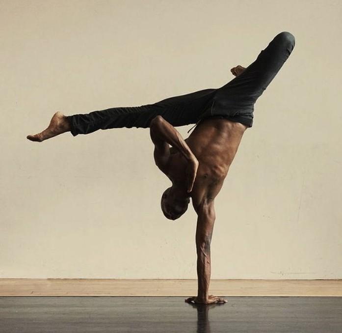 Superhuman Yoga Handstand